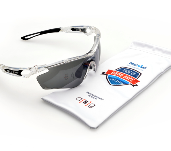 Finishers in the 2016 Bestmed Tour of Good Hope will be rewarded with a pair of Rudy Project Tralyx eyewear as part of a R3.5-million product partnership with South Africa's premier road tour. Photo: Supplied