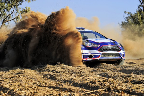 Ford Performance team: Houghton misses out because of weight regulations. Picture: Quickpic