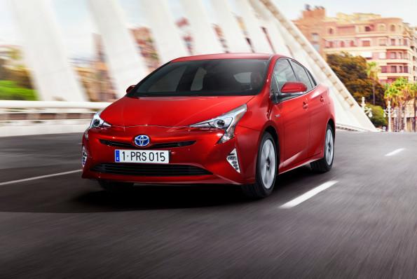 The Toyota Prius: new look. Picture: Quickpic