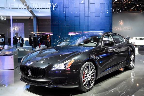 Maserati on show at Frankfurt. Picture: Quickpic