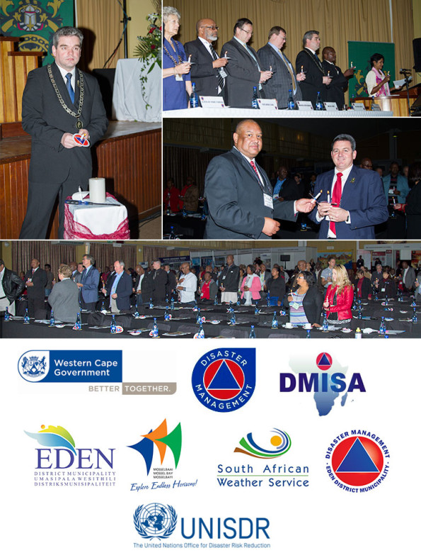 All dignitaries and delegates participated in the candle lighting ceremony
