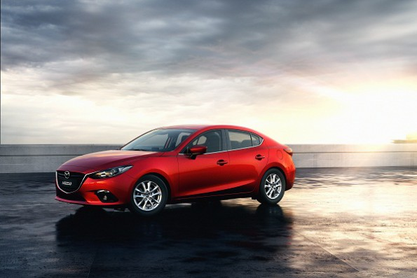 The 2-litre Mazda3 five-door Astina:  new from the ground up. Picture: Quickpic
