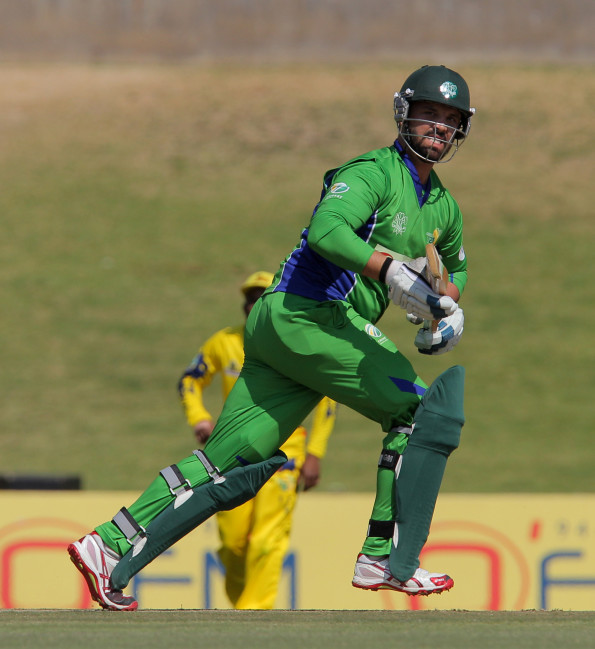 Waldo Lategan batting for SWD during the 2015 Africa T-20 Cup match between Gauteng and South Western Districts at Mangaung Oval on September 26, 2015 in Bloemfontein, South Africa. (Photo by Petri Oeschger/Gallo Images)
