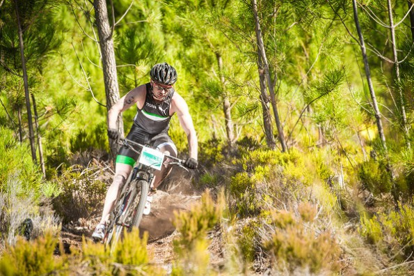 Bradley Weiss in action during the Fedhealth XTERRA Grabouw presented by REHIDRAT® SPORT earlier this year.  Photo Credit:  Volume Photography