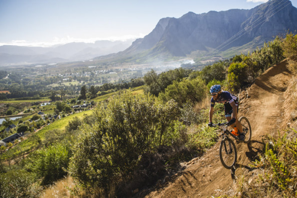 More riders will be able to enjoy the spectacular views at South Africa's most beautiful race, the Liberty Cape Winelands MTB Encounter, on April 15 to 17, as organisers have opened the field to an additional hundred teams. Photo: Ewald Sadie