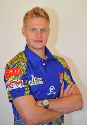 Sybrand Engelbrecht during the Nashua Cape Cobras photocall session at Sahara Park Newlands on October 30, 2014 in Cape Town, South Africa. (Photo by Ashley Vlotman/Gallo Images)