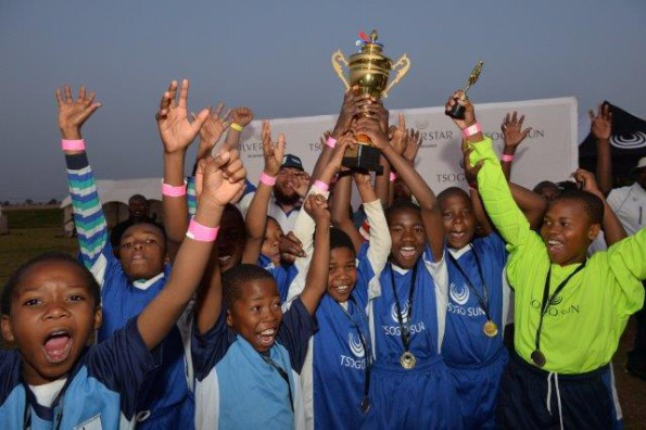 U12 winners Paardekraal Primary