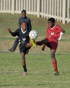Winners U14 Bosele vs Sethlomthe in the final