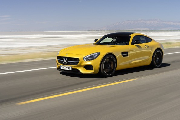"The ""best driver's car""- the Mercedes AMG GT S. Picture: Quickpic"
