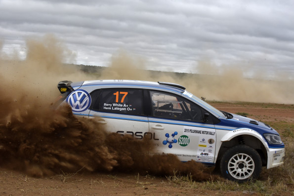 Henk Lategan and Barry White:  podium place for Volkswagen pair. Picture: Quickpic