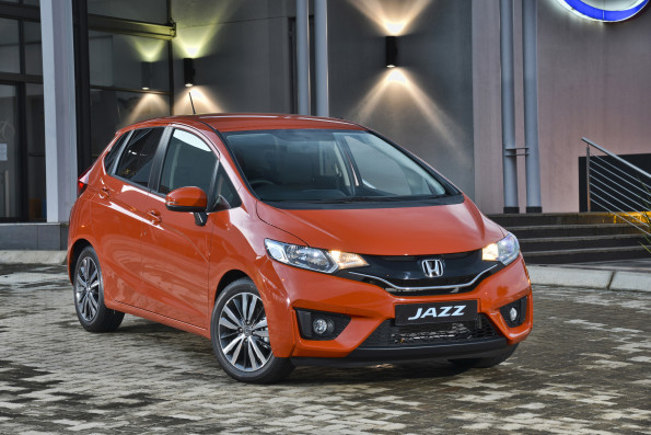 The Honda Jazz: gold award