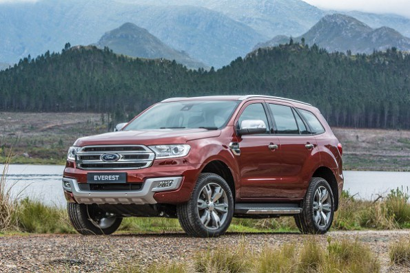 The Ford Everest: packed with technology: Picture: Quickpic