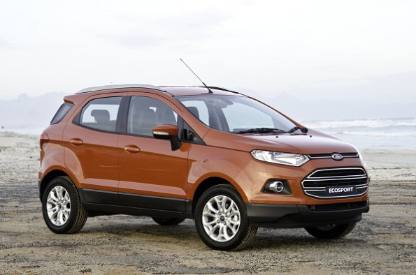 Ford's EcoSport: demand for SUV still strong. Picture: Quickpic