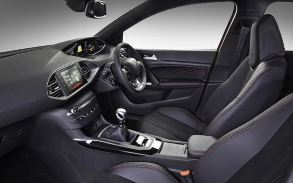 The Peugeot 308 1.2 PureTech GT Line: the neat and uncluttered interior. Pictures: Motorpress