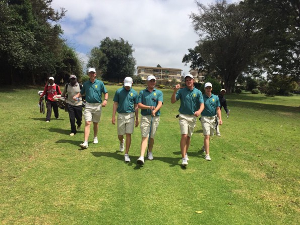 eam South Africa at the All Africa Golf Team Championships; credit SAGA