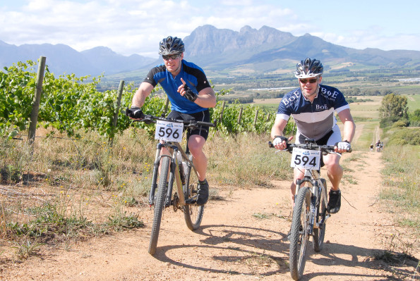 Riders can look forward to a new and improved route for this year's Bestmed Paarl MTB Classic as the event moves to the Rhebokskloof Wine Estate for its second edition. Photo: Jetline Action Photo