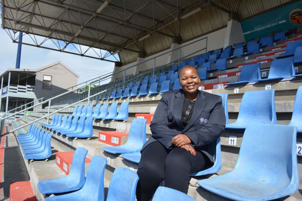 Madibaz director of sport Yoliswa Lumka will be acting as team manager and chef de mission when the South African Wheelchair Basketball teams head to Algeria for Paralympic qualifiers later this month. Photo: Full Stop Communication