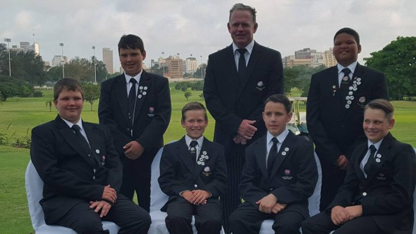 The Southern Cape u13 team who will be playing in The South African U13 Tournament which will be held at Royal Durban Golf Club from the 5th to the 7th