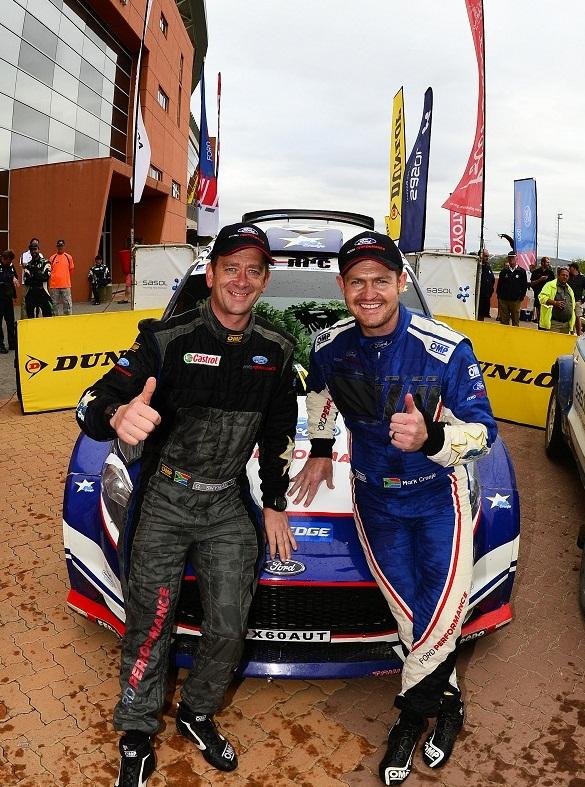 Mark Cronje and Gerhard Snyman: a winning team. Picture: Erik Buijs