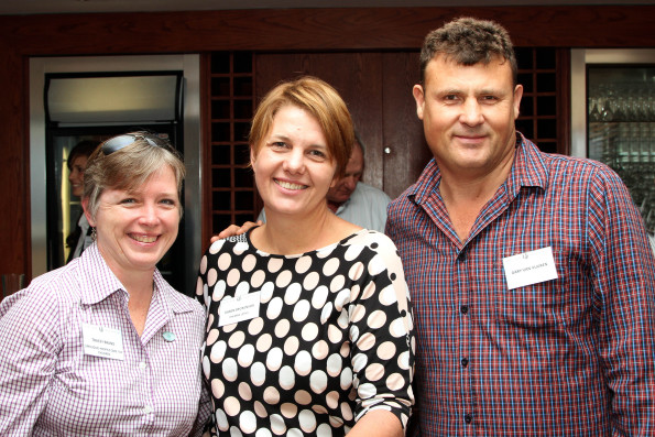 Tracey Brand (Umduduzi Hospice Care For Children), Karen Brokensha (iThemba Lethu) and Gary van Vuuren