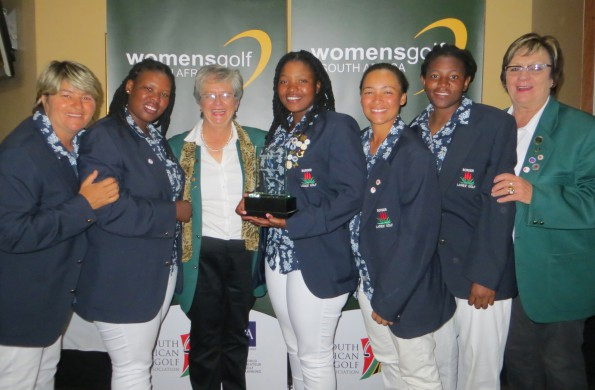 Border successfully defended their B-Section title at the 55th South African Women's Inter-Provincial at Centurion Country Club; credit Border LGU