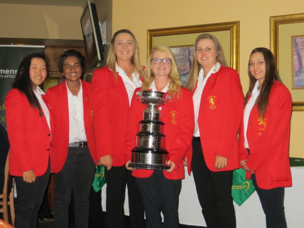 Gauteng A lifted the 55th South African Women's Inter-Provincial at Centurion Country Club; credit Ladies Golf Gauteng