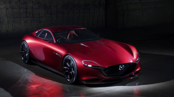 Shape of things to come: Mazda's vision of the future. Picture: Quickpic