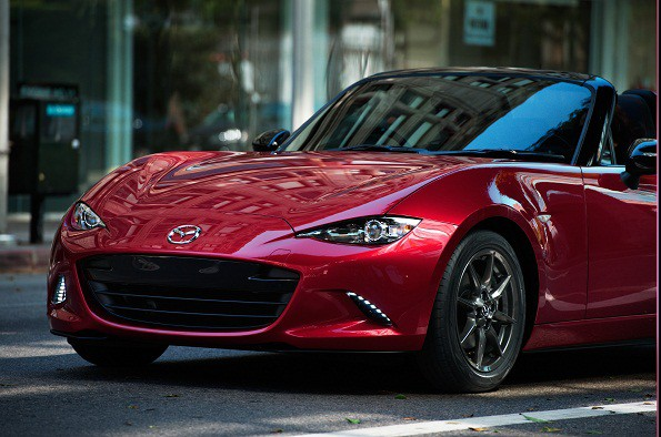 "The new Mazda MX-5: ""best selling roadster in history"". Picture: Quickpic"