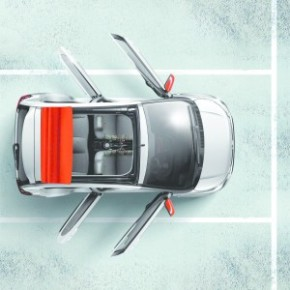 Wind-in-the-hair motoring: the C 1 Feel Airscape has an innovative fold-back canvas roof section. Picture: Motorpress