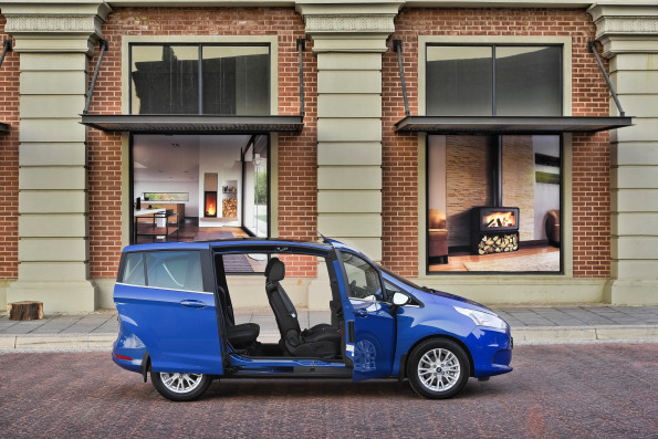 The Ford B-Max 1-litre EcoBoost: at home in the city or on country roads. Picture: Quickpic