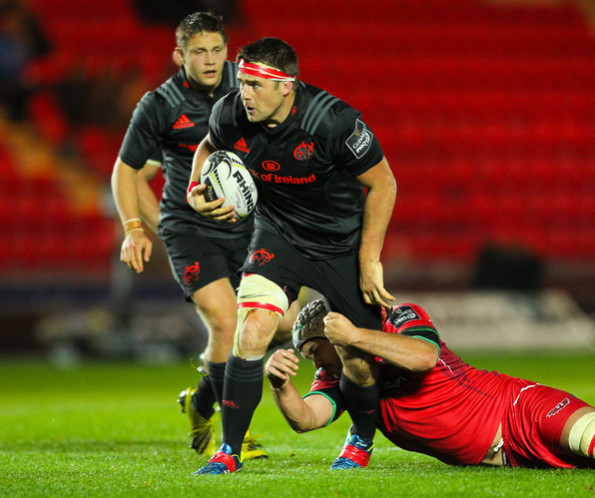 Stander has been installed as Munster captain in the absence of Peter O'Mahony