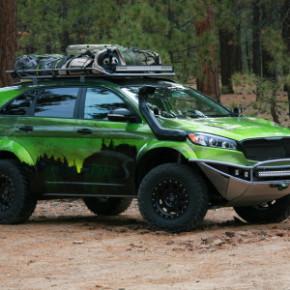 Time for adventure: Kia's concept vehicle, the PacWest Adventure Sorento 2-litre
