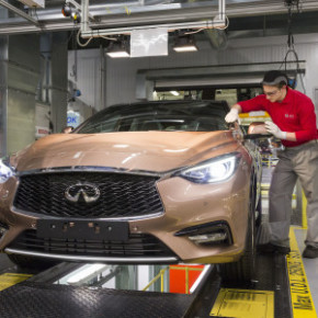 The Infiniti Q30:  first vehicle to be manufactured in Europe. Picture: Motorpress