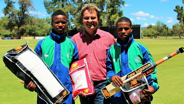 New Balance sponsor SWD cricketers