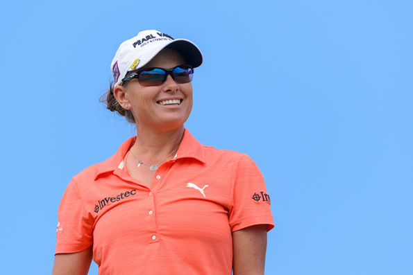Double Chase to the Investec Cup for Ladies champion Lee-Anne Pace; credit Justin Klusener