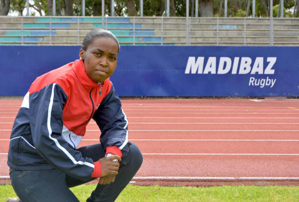 The newly appointed FNB NMMU Madibaz rugby manager Melissa Awu is ready to help take Madibaz to new heights in the 2016 FNB Varsity Cup. Photo: Full Stop Communications