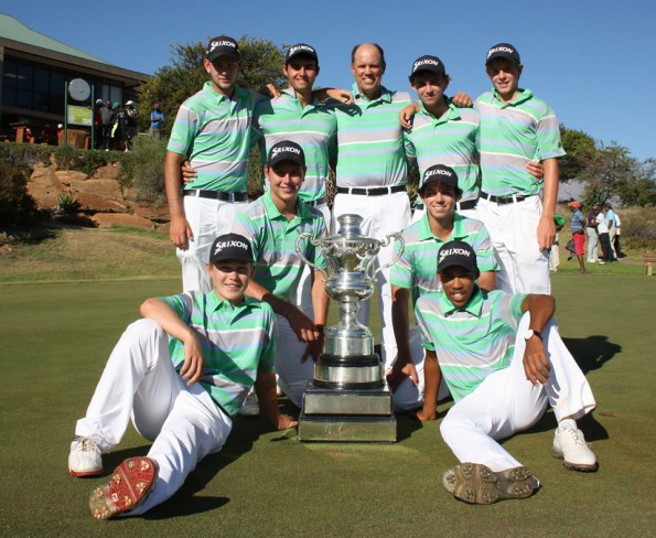 SA U-19 Inter-Provincial A-Section champions Southern Cape; credit SAGA