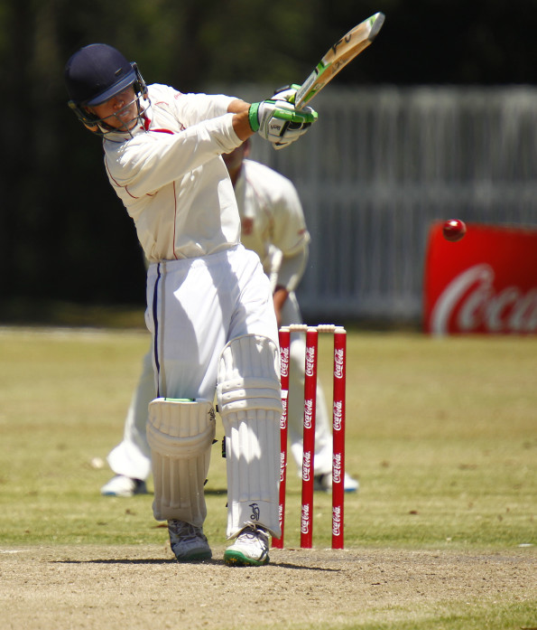 Richard Aarons in action: SWD vs Northern Cape at Woodridge Knight field , Bailey Aarons of SWD during day 2 of the Coca-Cola Khaya Majola Week on December 17, 2015 in Port Elizabeth, South Africa. (Photo by Michael Sheehan/Gallo Images)