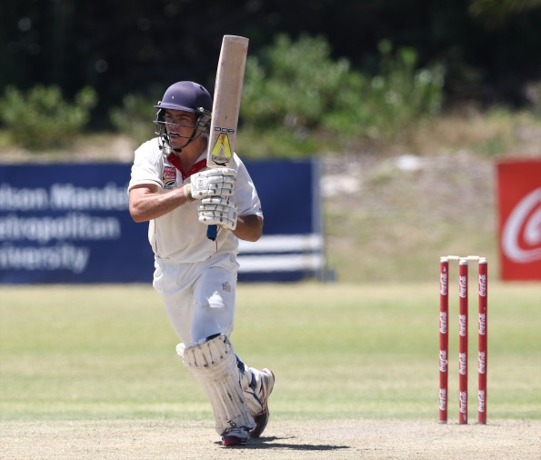 PORT ELIZABETH, SOUTH AFRICA - DECEMBER 18: Anthony Dakin of Eastern Provinceduring the match between Eastern Province vs Northern Cape at NMMU A during day 3 of the Coca-Cola Khaya Majola Week on December 18, 2015 in Port Elizabeth, South Africa. (Photo by Richard Huggard/Gallo Images)
