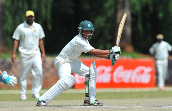Jean Heunis of Colts cuts a delivery during day 6 of the Coca-Cola Khaya Majola week between SA Colts  and North West Invitational XI at PUK Oval on December 21, 2012 in Potchefstroom, South Africa Photo by Duif du Toit / Gallo Images