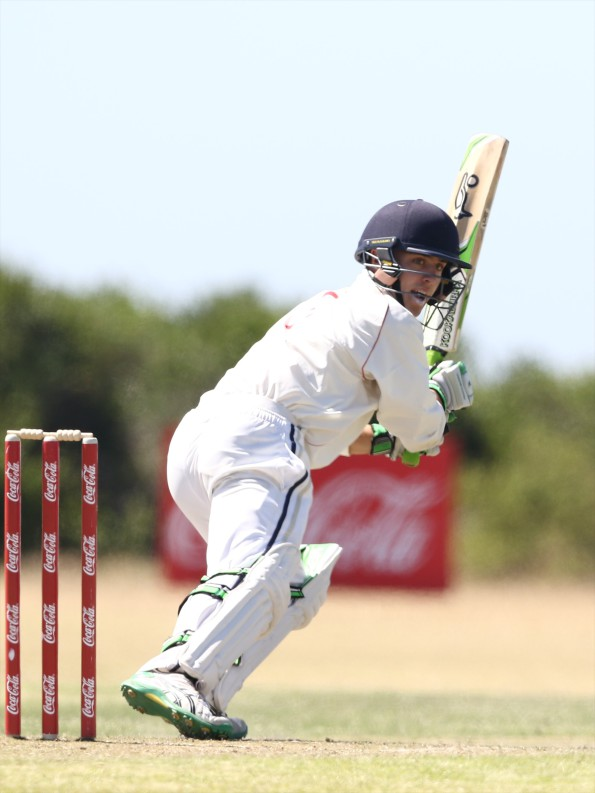 Jean Du Plessis of SWD during the match between Eastern Province vs South Western Districts at NMMU B during day 3 of the Coca-Cola Khaya Majola Week on December 18, 2015 in Port Elizabeth, South Africa. (Photo by Richard Huggard/Gallo Images)