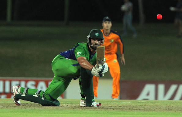 Waldo Lategan of SWD during the 2015 Africa T-20 Cup match between Free State and South Western Districts at Mangaung Oval on September 25, 2015 in Bloemfontein, South Africa. (Photo by Petri Oeschger/Gallo Images)