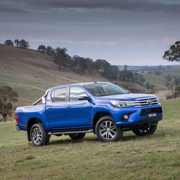 "Toyota's Hilux: the nation's ""most popular"" vehicle. Picture: Motorpress"
