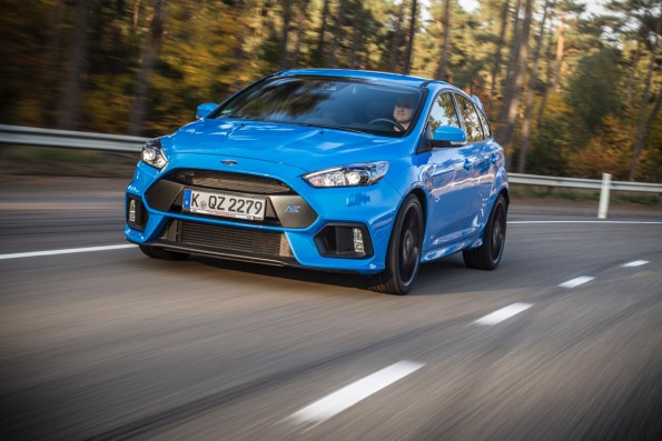 Ford Focus RS: new era for fast Fords. Picture: Quickpic