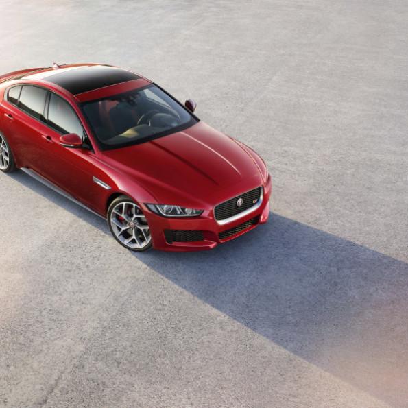 The Jaguar XE sports sedan: safety first. Picture: Motorpress/Jaguar