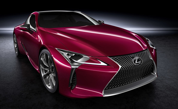 The new Lexus LC 500: coming soon to a dealer near you. Picture: Motorpress