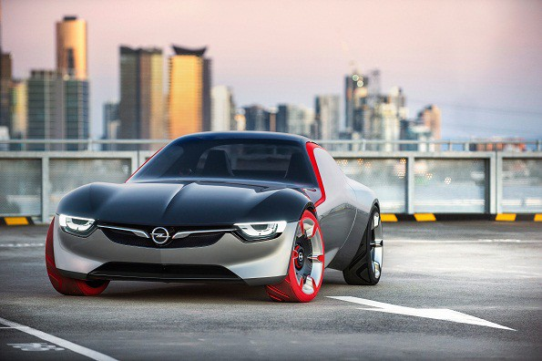 "The Opel GT concept: expresses ""pure passion"". Picture: Quickpic"