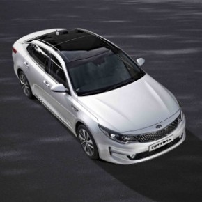 The Kia Optima:more silverware for the trophy cabinet. Pictures: Motorpress
