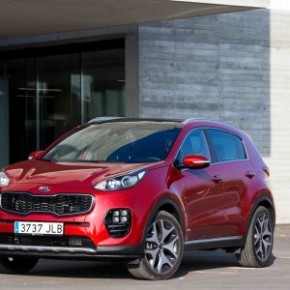 The Kia Sportage: more silverware for the trophy cabinet. Pictures: Motorpress