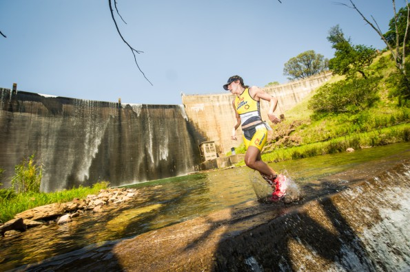 The 2016 Fedhealth XTERRA SA season kicks off this month with the much anticipated Fedhealth XTERRA Buffelspoort (North West Province) the weekend of 22 – 24 January 2016 followed by an exciting introduction to Port Elizabeth with the Fedhealth XTERRA Nelson Mandela Bay the weekend of 29 – 31 January 2016.  Seen here:  Leading XTERRA SA Warrior, Carla Van Huyssteen in action at the 2015 Fedhealth XTERRA Buffelspoort.  Photo Credit:  Volume Photography